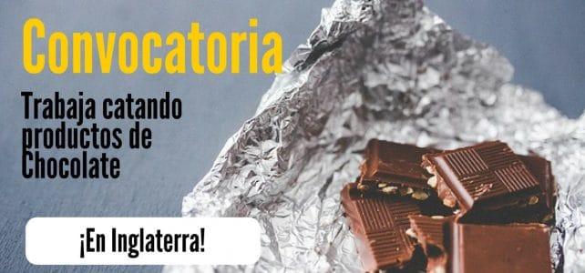 Convocatoria para trabajar probando chocolate todo el día !