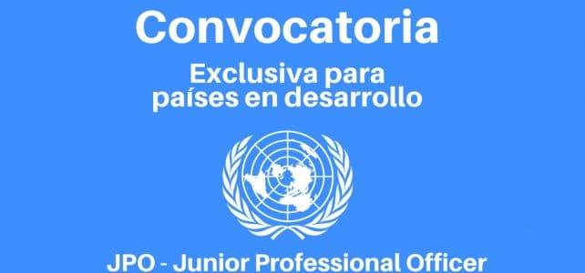 Convocatoria de Naciones Unidas exclusiva para países en vía de desarrollo