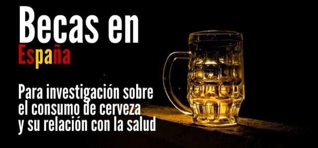 Becas en España para proyectos sobre el consumo de cerveza