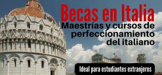 Becas en Italia para Latinoamericanos !