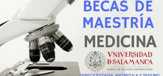 Becas para carreras universitarias en el área de la salud, enfermería y medicina en España.