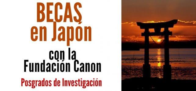 Becas en Japón con la Fundación Canon