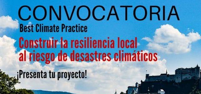 Convocatoria para proyectos que mitiguen el cambio climático