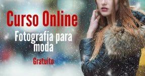 Curso online sobre fotografía para moda
