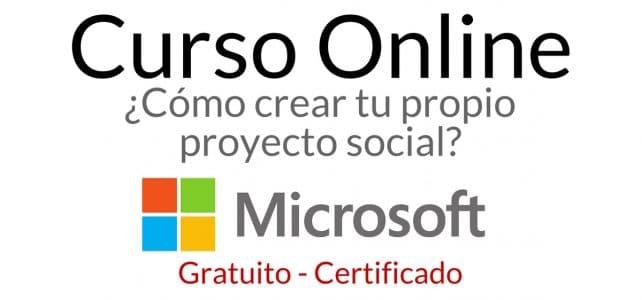 Curso online con Microsoft