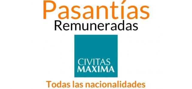 Pasantías remuneradas con Civitas Maxima organización experta en crímenes internacionales, crímenes de guerra y crímenes de lesa humanidad