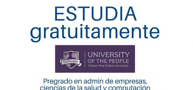Estudia gratuitamente en una Universidad Online acreditada