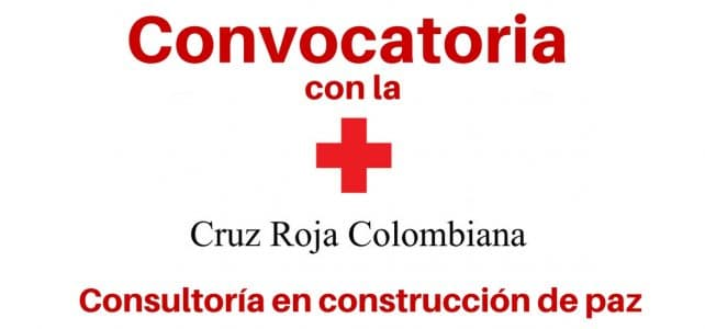 Convocatorias laborales con la Cruz Roja Colombiana
