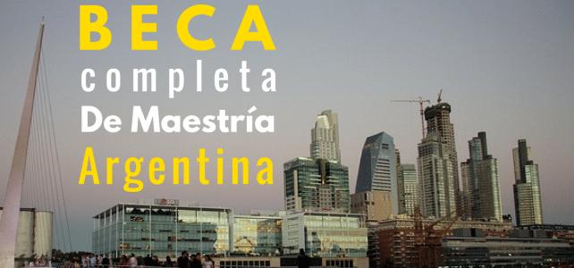 Becas completas de maestría en Argentina