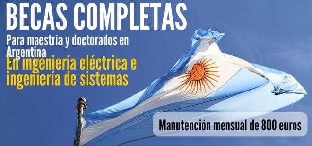 Becas para estudios de maestría y doctorado en Argentina