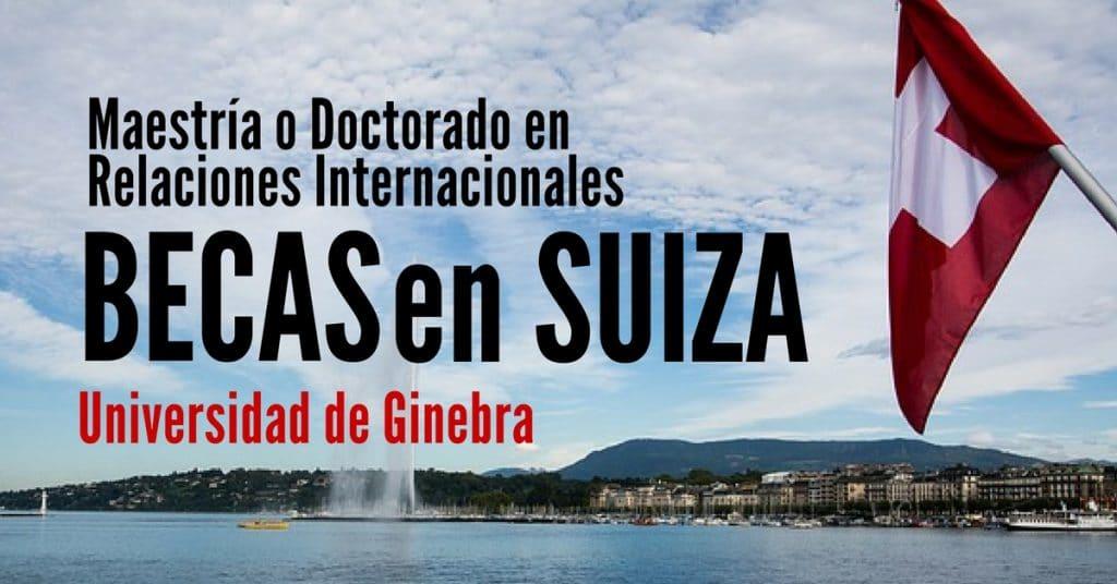 Becas para estudiar en Suiza en la Universidad de Ginebra – Más ... 453c57e8e450b