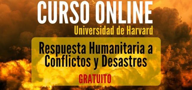 Curso online y gratuito sobre Respuesta Humanitaria a Conflictos y Desastres
