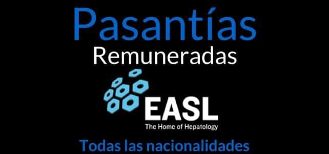 Pasantías remuneradas con EASL, asociación enfocada en temas de salud