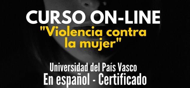 Curso virtual y gratuito sobre Violencia contra la mujer