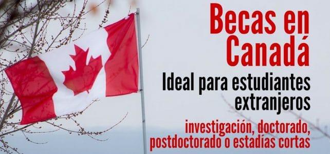 Becas para estudiantes extranjeros en Quebec – Canadá