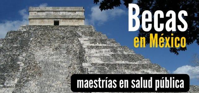 Becas completas para maestrías en salud pública en México