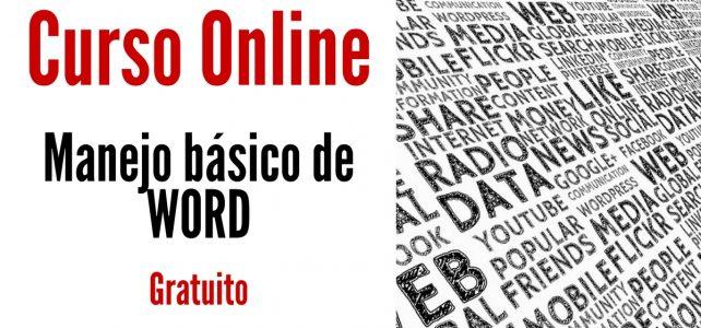Videocurso en Español y gratuito sobre manejo básico de Word