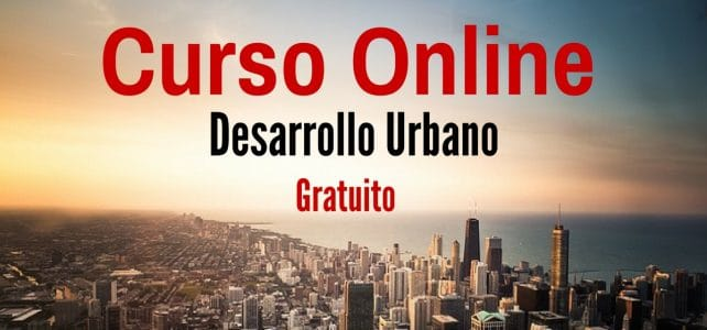Curso online sobre desarrollo urbano