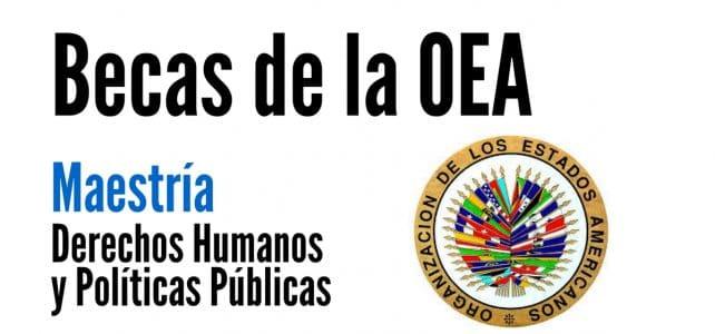 Becas para Maestría en Derechos Humanos y Políticas Públicas con la OEA
