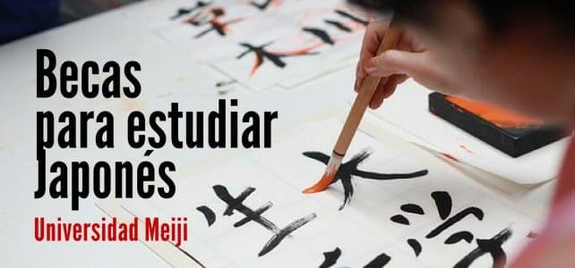 Becas para estudiar japonés en la Universidad Meiji