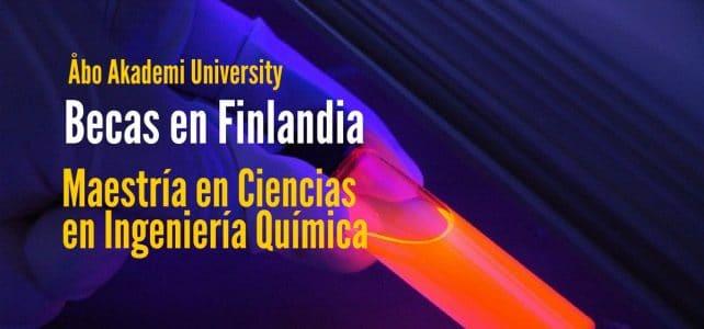 Becas para Maestría en Ingeniería Química