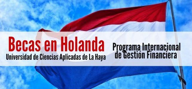 Beca para estudiar gestión financiera en Holanda