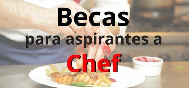 Becas para Chef y aspirantes a Chef