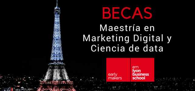 becas de descuento en paris marketing digital master