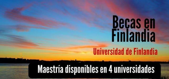 Becas COMPLETAS para estudiar maestrías en Universidades de Finlandia