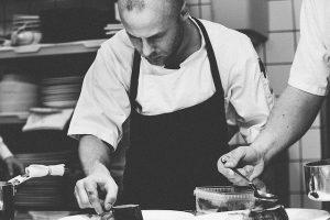 Chef o estudiante de cocina
