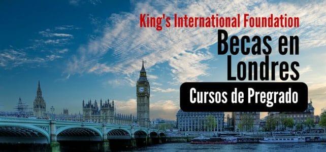 Becas para cursos con la Fundación King's College de Londres