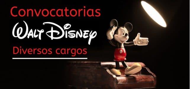 Convocatorias laborales con Walt Disney Company