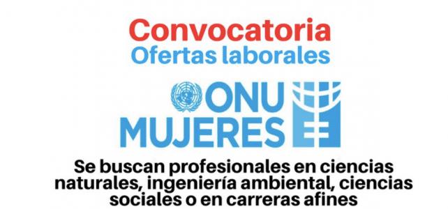 Vacantes con ONU Mujeres para profesionales