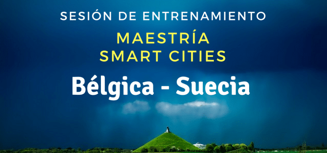 Sesión de coaching maestría en Smart Cities