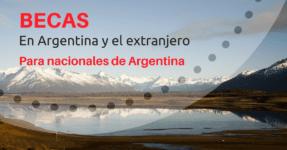 Instituciones que otorgan BECAS para Argentinos