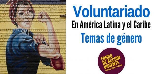 Voluntariado en América Latina y el Caribe en temas de género