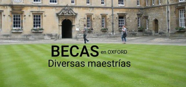 Becas completas con Oxford en Inglaterra