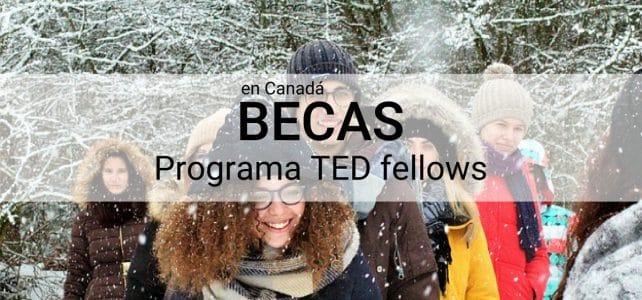 Becas completas programa TED Canadá