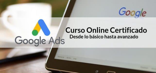 Cursos online y certificados por Google