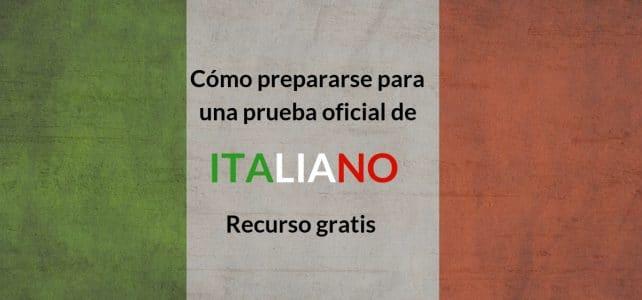 Preparación prueba italiano