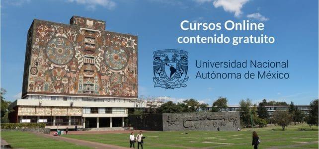Nuevos curso en línea ofrecidos por la UNAM con opción de certificado
