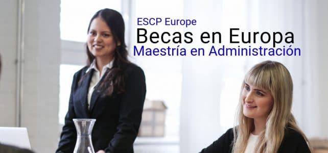 Becas para maestría en Europa