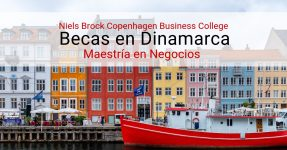 Beca para maestría en Dinamarca