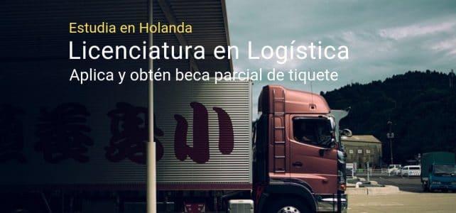 Estudia en Holanda licenciatura en logística