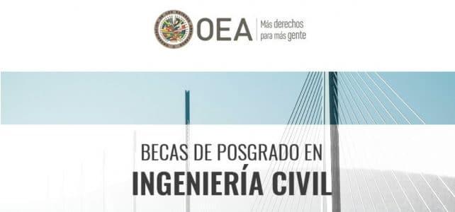 Becas para maestrías con la OEA