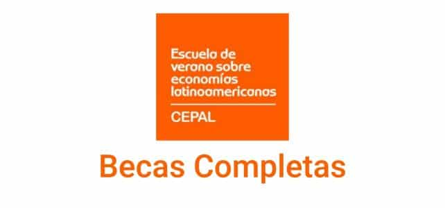 Becas de la CEPAL para cursos cortos en economías Latinoamericanas