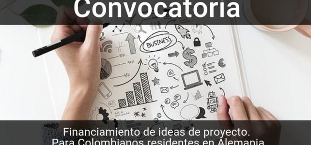 Convocatoria para financiar ideas de proyectos