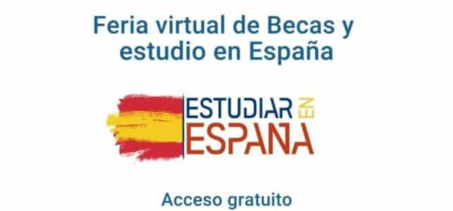España: Feria virtual de Becas y estudio en España para pregrado y posgrado