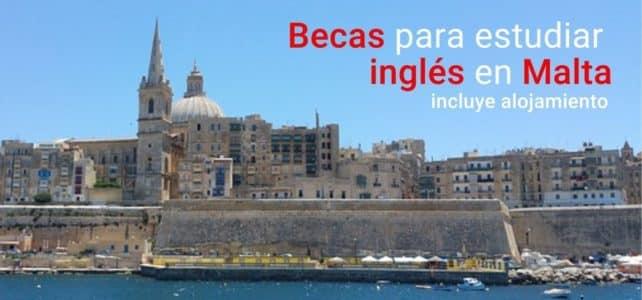 Becas para estudiar inglés en Malta